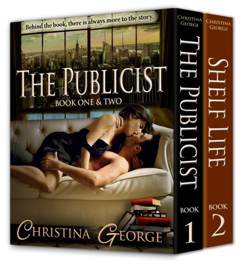 Book 1_2_The Publicist Shelf Life Christina George