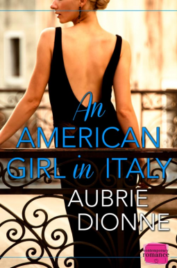 american girl in italy